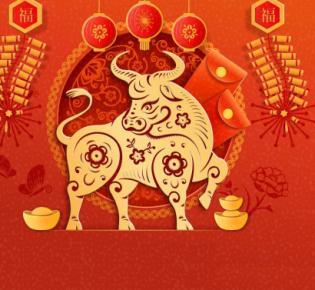 Symbolbild Jahr des Ochsen