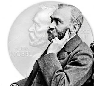 Afred Nobel, der Stifter des Nobelpreises