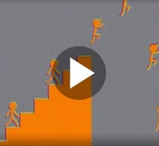 Animationsstillbild einer Optischen Bewegungsillusion