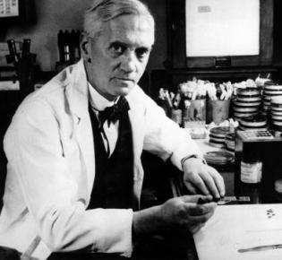 Alexander Fleming, der Entdecker des Penicillins