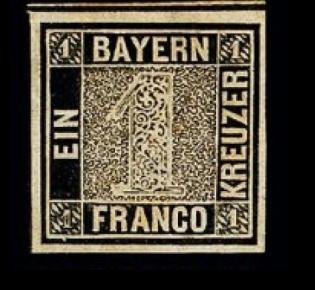 Bayern-Einser von 1849
