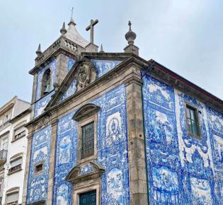 Ansicht der Capela da Almas, Porto