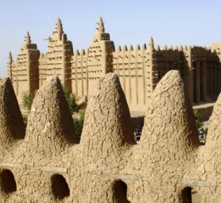 Große Moschee von Djenné, Mali