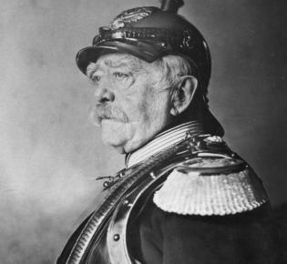 Otto von Bismarck in Uniform