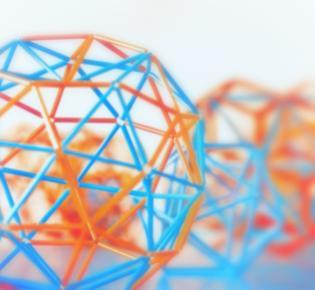 Farbige 3D-Druckerzeugnisse