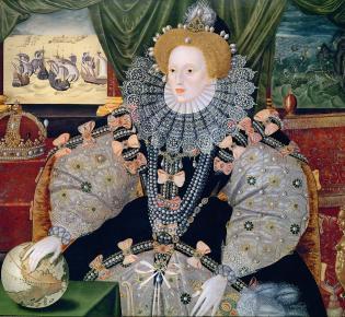 Elizabeth I. von England, Armadaportät (1588)