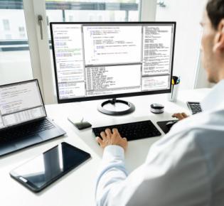 Symbolbild Software-Entwickler