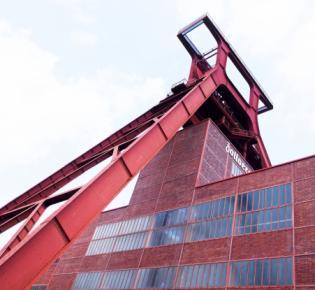 Doppelbockfördergerüst der Zeche Zollverein, Essen
