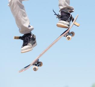 Symbolbild Skateboard