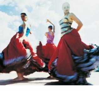 Flamenco-Tänzerinnen