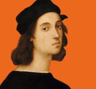 Raffael (Selbstporträt, 1506, Uffizien)