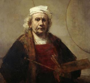 Selbstporträt, Rembrandt (1660)