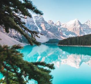 Lake Luise im Banff National Park, Alberta