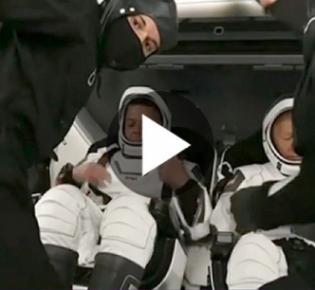 """Vorbeitung der Teilnehmer an der SpaceX-Mission """"Inspiration 4"""""""