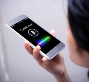 Smartphone im Mikrofonmodus