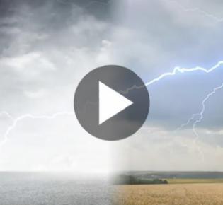 Symbolbild Blitzschlag