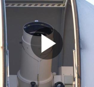 Kuppel des Wettzell Laser Ranging Systems