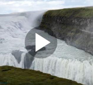 Gullfoss auf Island