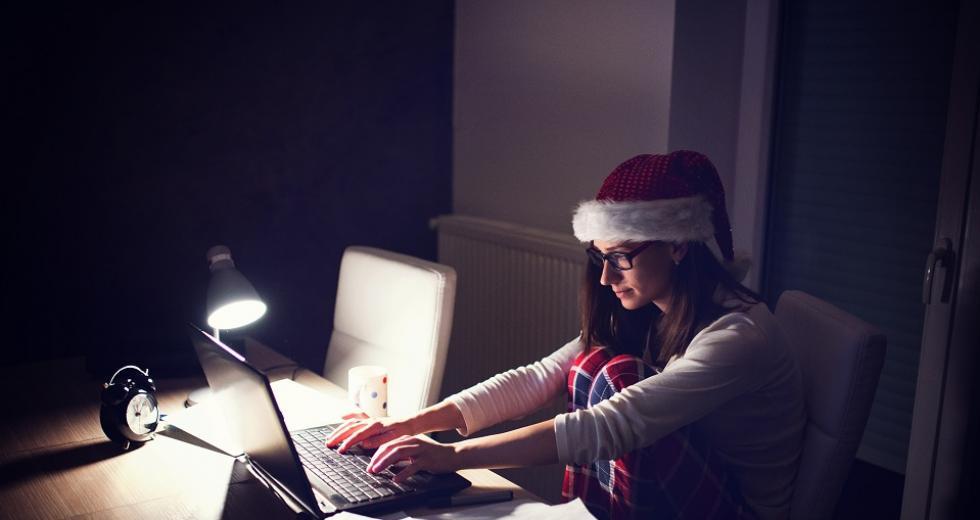 Überstunden zur Weihnachtszeit