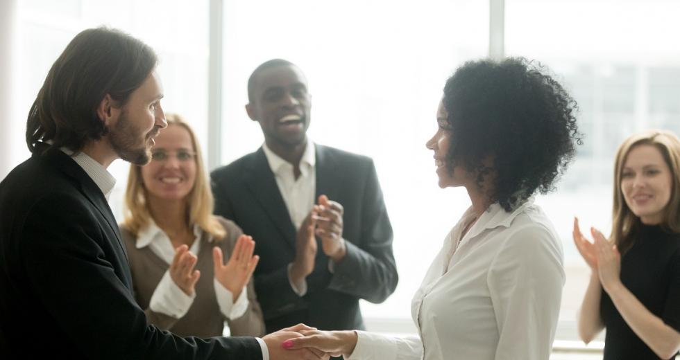 Symbolbild Erfolg im Berufsleben