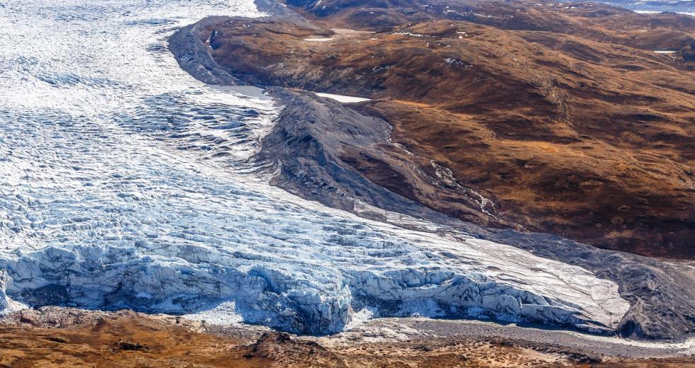 Eisschmelze in der Nähe von Kangerlussuaq, Görnland