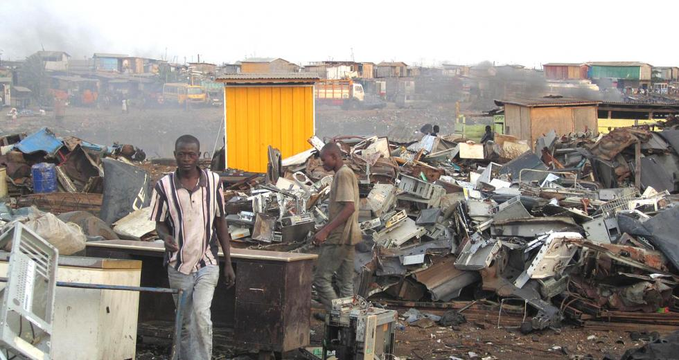 Mülldeponie in Agbogbloshie, Nigeria