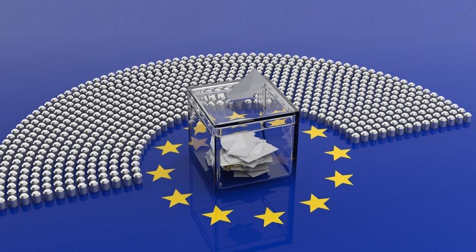 Visualisierung einer Europawahl