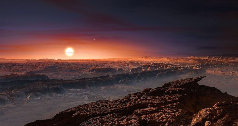 Oberfläche von Proxima Centauri