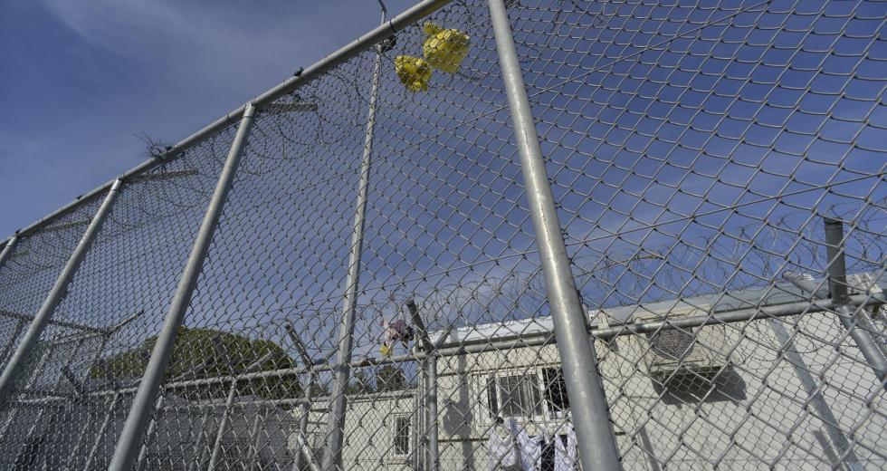 Lager Moria auf Lesbos
