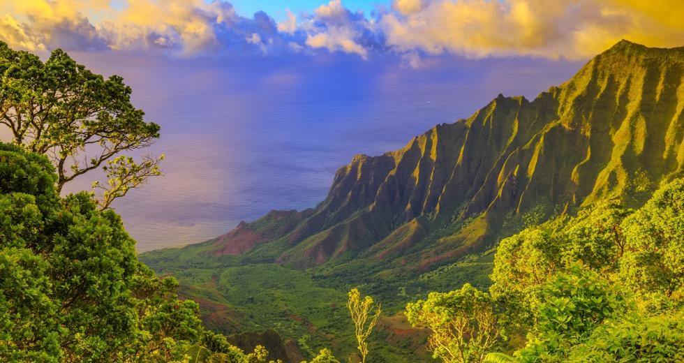 Na Pali Coast auf Kauai, Hawaii-Inseln