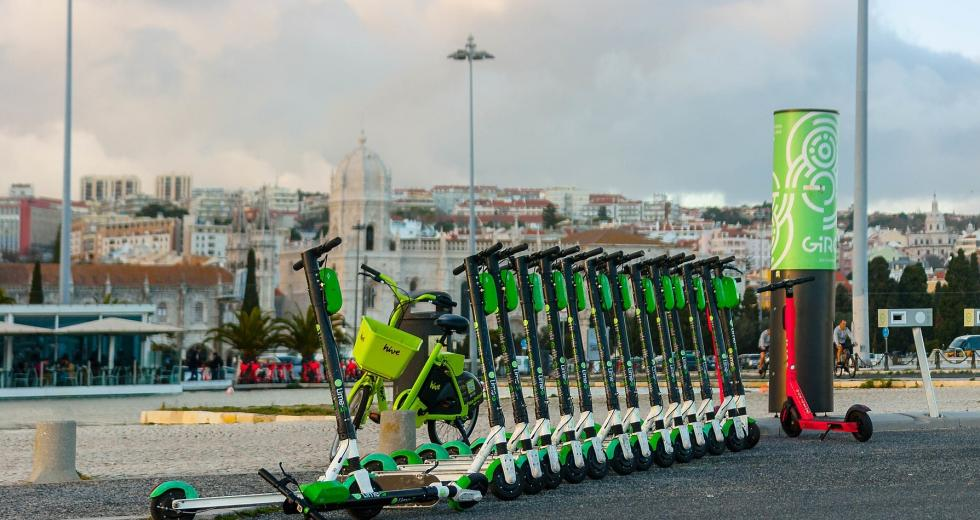 E-Scooter in Belem, Brasilien