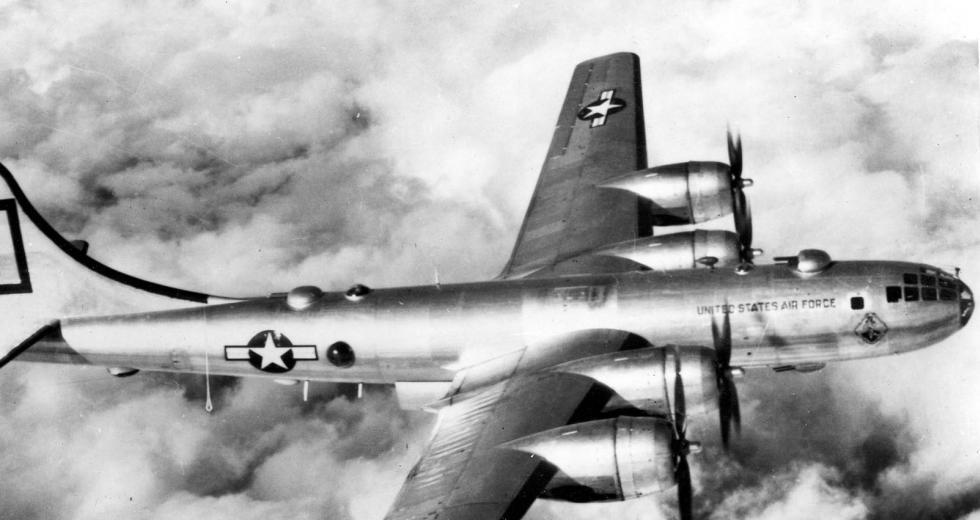 Boeing B-50 Superfortress der US Luftwaffe