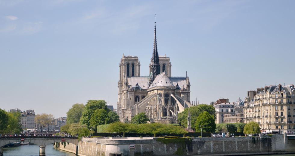 Südostansicht von Notre-Dame de Paris