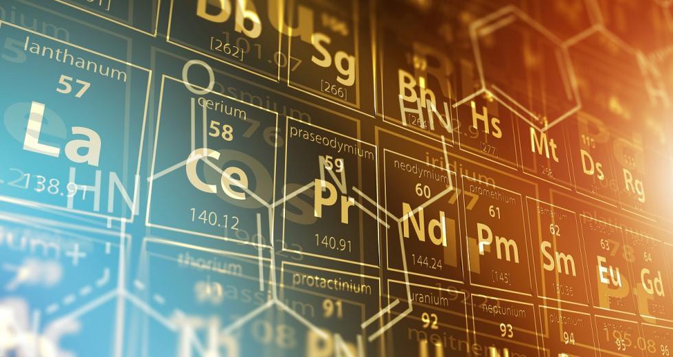 Periodensystem der Elemente und Strukturformeln