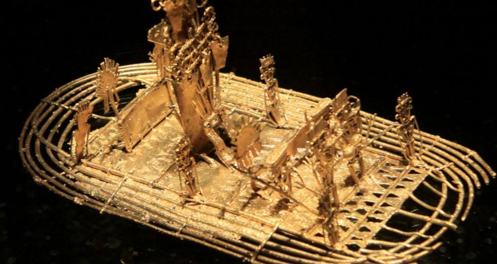 Goldenes Floß der Muisca