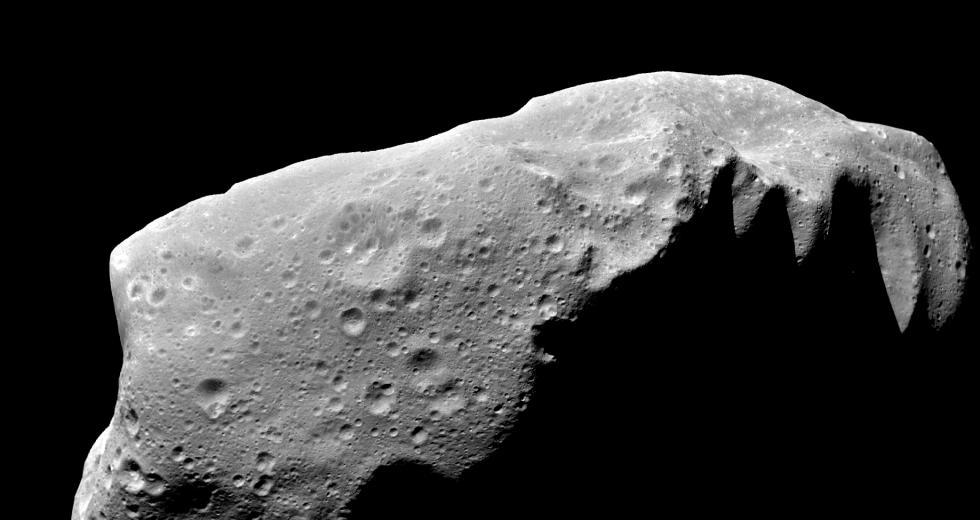 Asteroid 243 Ida, Aufnahme der Raumsonde Galileo