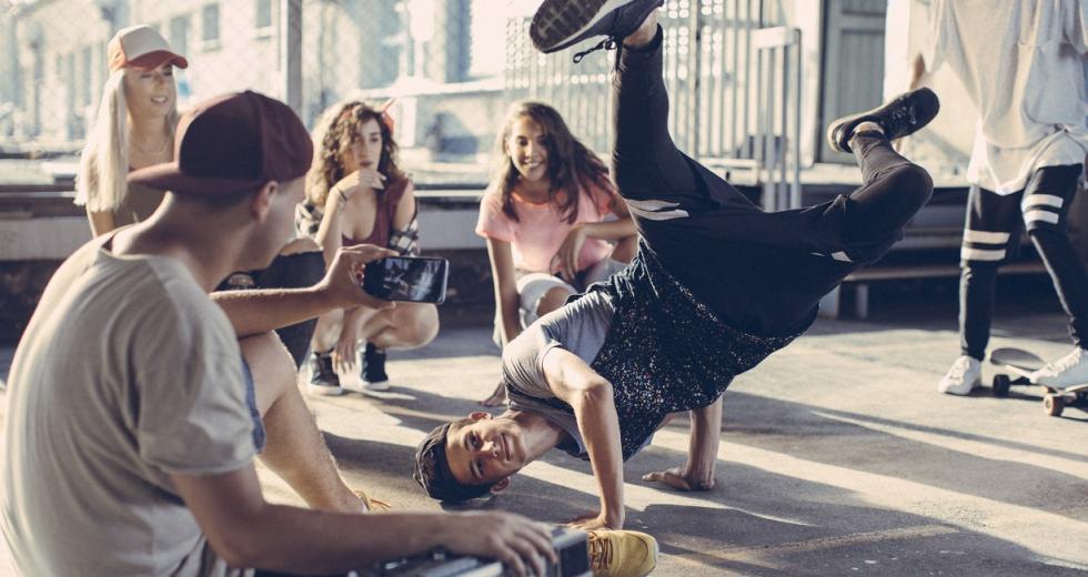 Symbolbild Breakdance