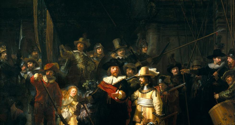 Nachtwache, Rembrandt (1642)