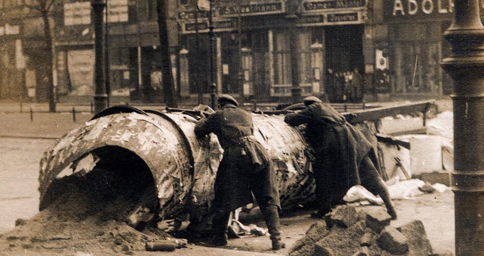 Spartakusaufstand, Januar 1919, in Berlin