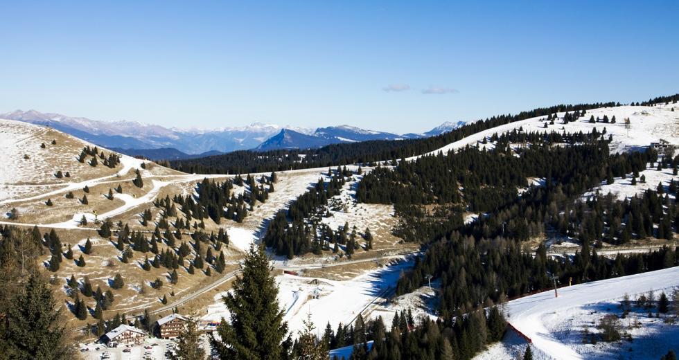 Schneemangel in Folgaria