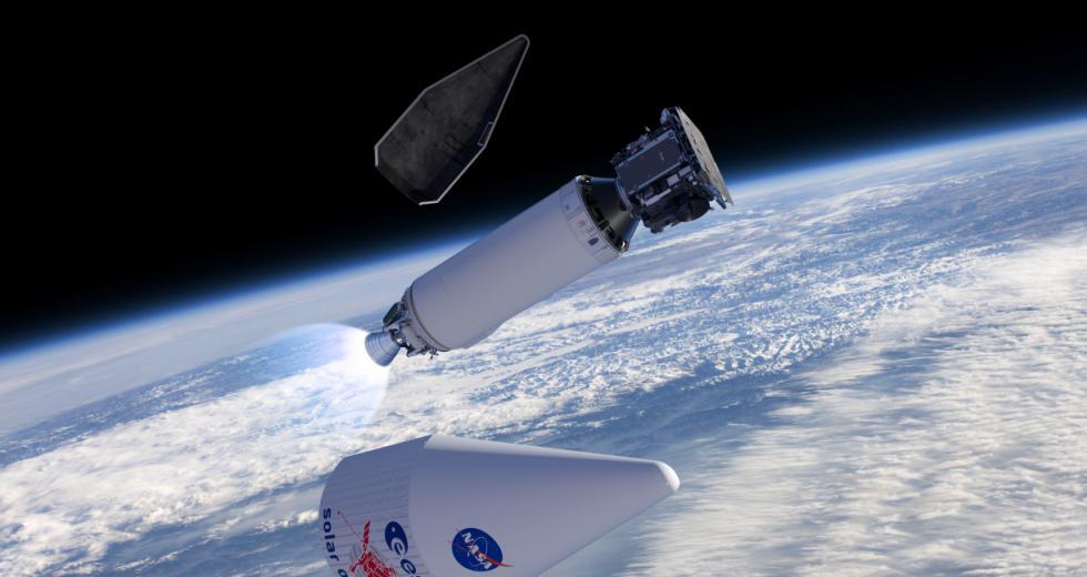 Trennung der Raumsonde von der Atlas-Trägerrakete