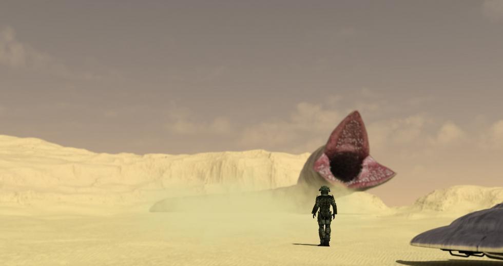 Symbolbild Wüstenplanet