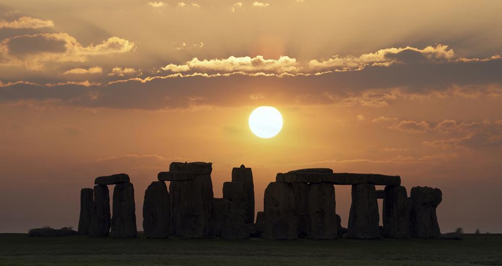 Sommersonnenwende über Stonehenge