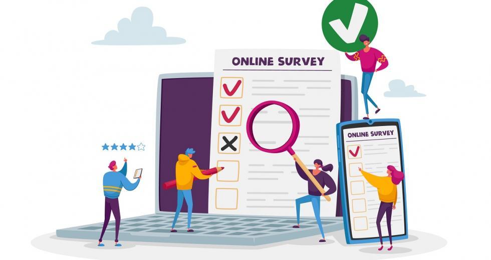Symbolbild Online-Umfragen
