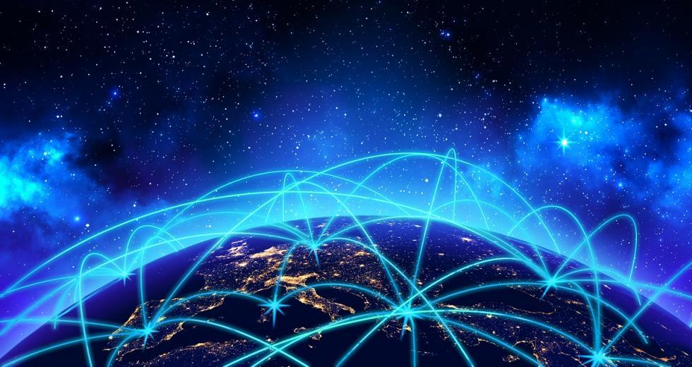 Visualisierung des Internets