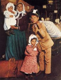 Italienische Emigranten