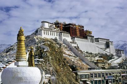 Der Potala Palast in Tibet