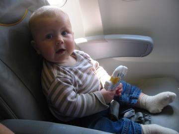Mit dem Flugzeug geht's am schnellsten!