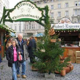 Altwiener Christkindlmarkt, Freyung Wien