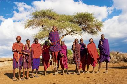 Massai in Kenia